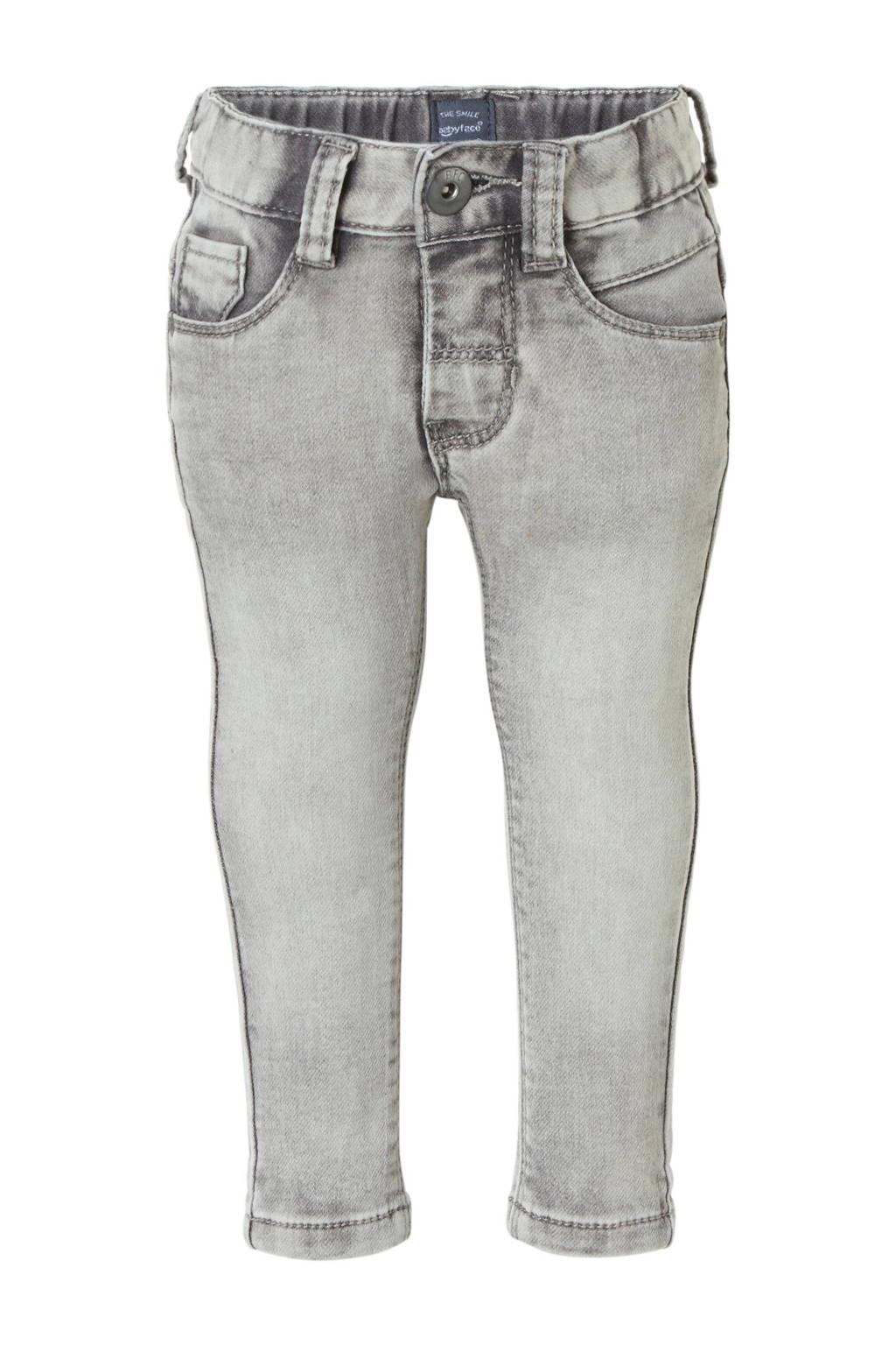 Babyface skinny jeans grijs, Grijs