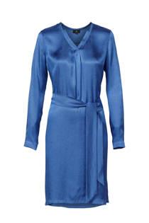Mart Visser geweven jurk blauw