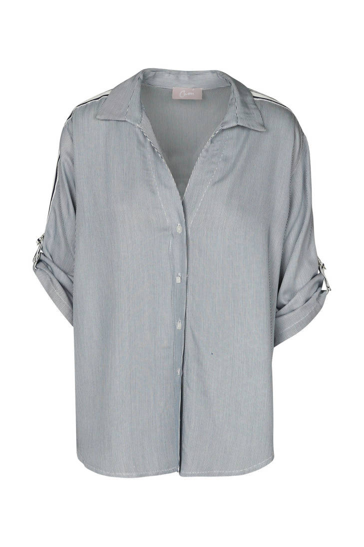 Cassis zijstreep gestreepte blouse blouse Cassis gestreepte met xqw8R14A0