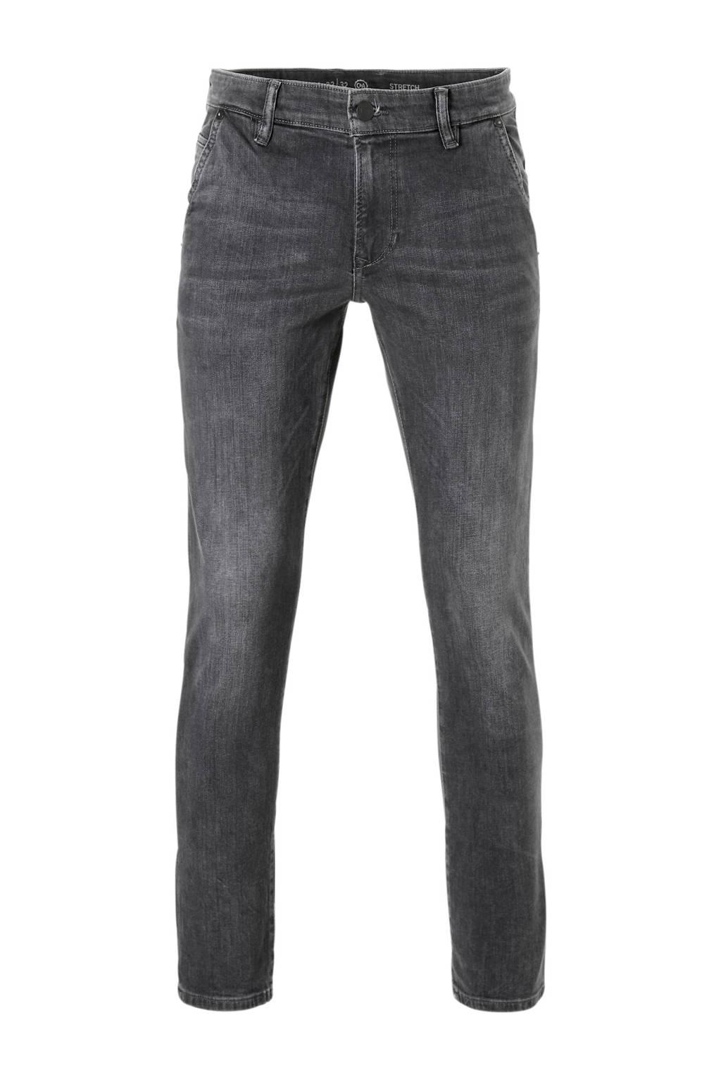 C&A The Denim slim fit chino jeans, Grijs