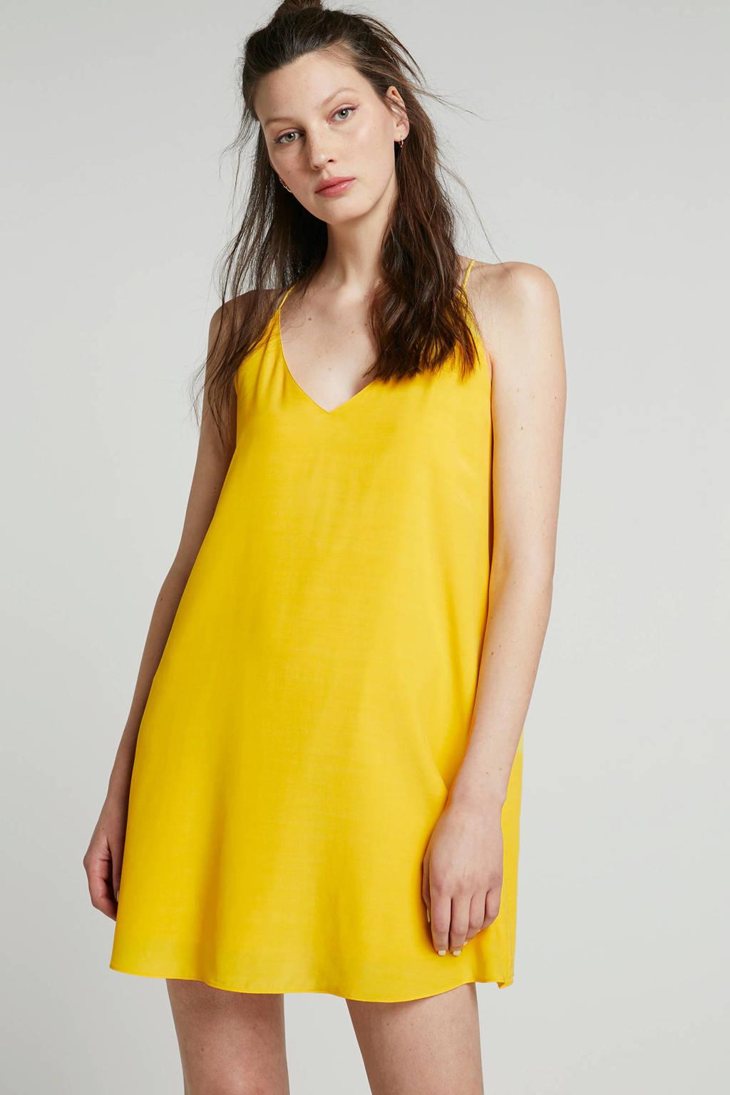 Calvin Klein Jeans jurk geel, Geel