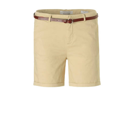 Scotch & Soda chino short met ceintuur kopen
