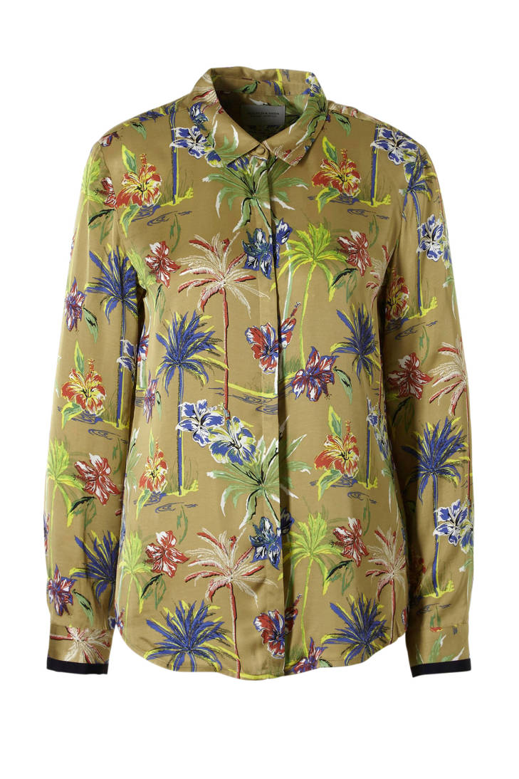 Scotch Soda blouse print all over met rrxfnqY8