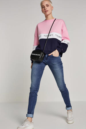 Be Yourself skinny jeans blauw