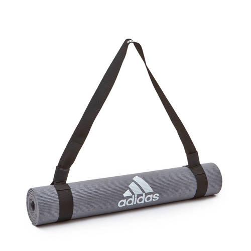 adidas mat draagband zwart kopen