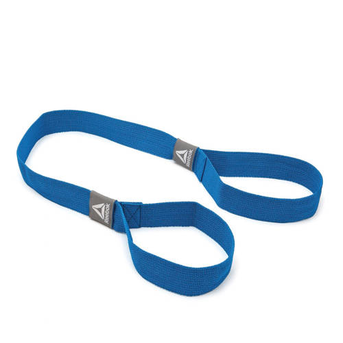 Reebok draagband mat blauw kopen
