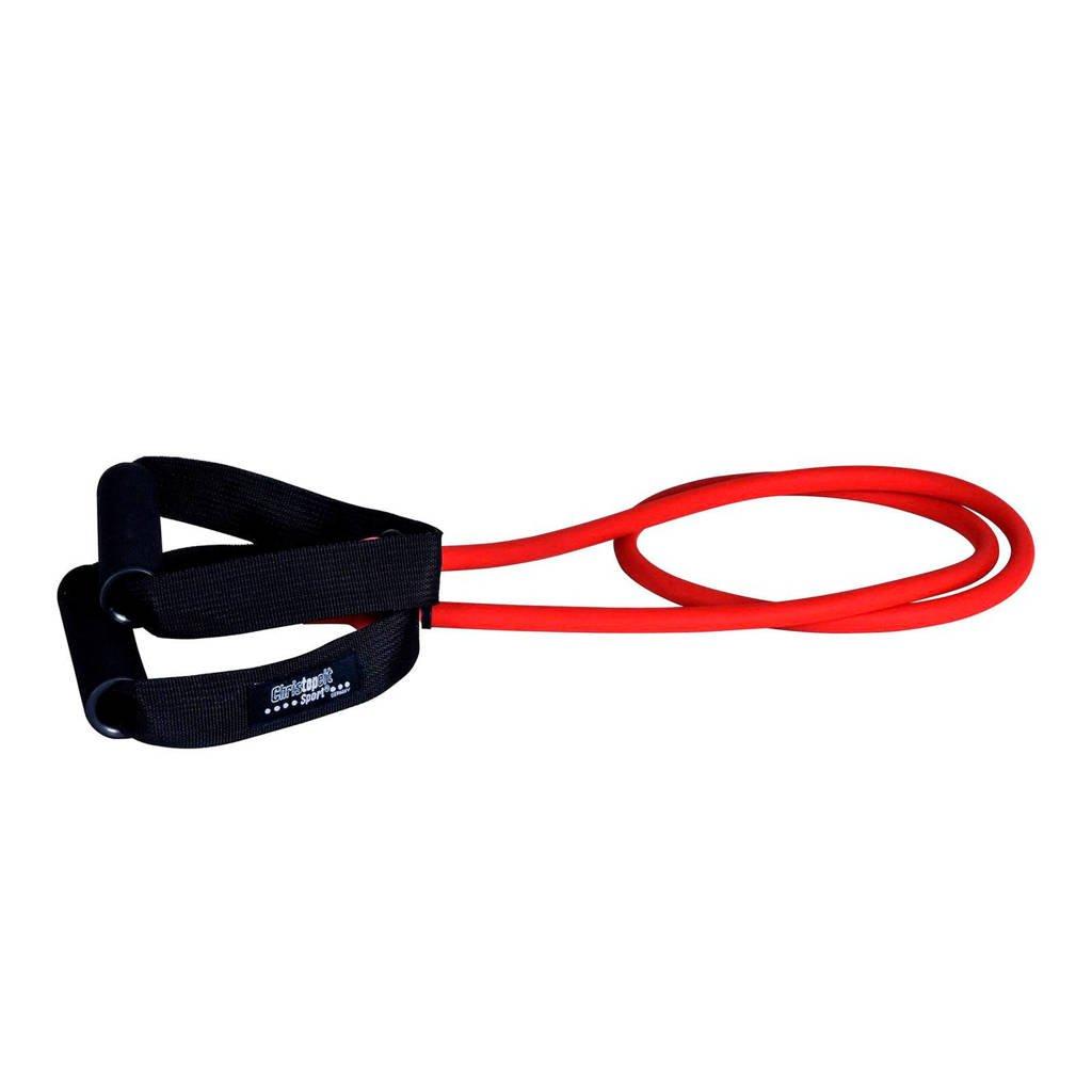 Christopeit  weerstandsband Medium - 130 cm, Rood