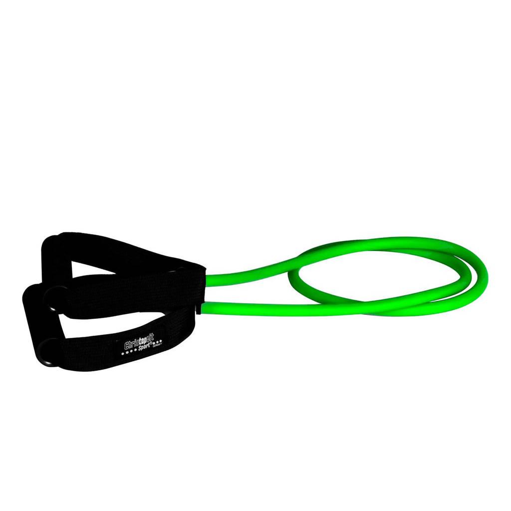 Christopeit  weerstandsband Light - 128 cm, Groen