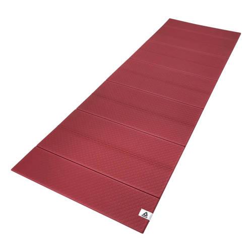 Reebok yogamat rood - 6 mm kopen