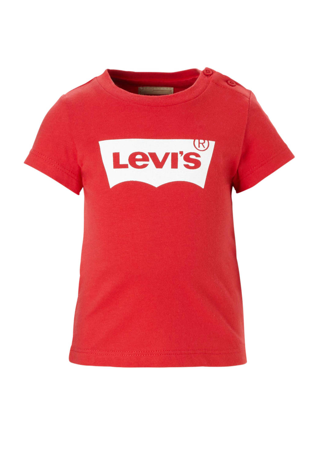 Levi's Kids baby T-shirt met logo rood, Rood