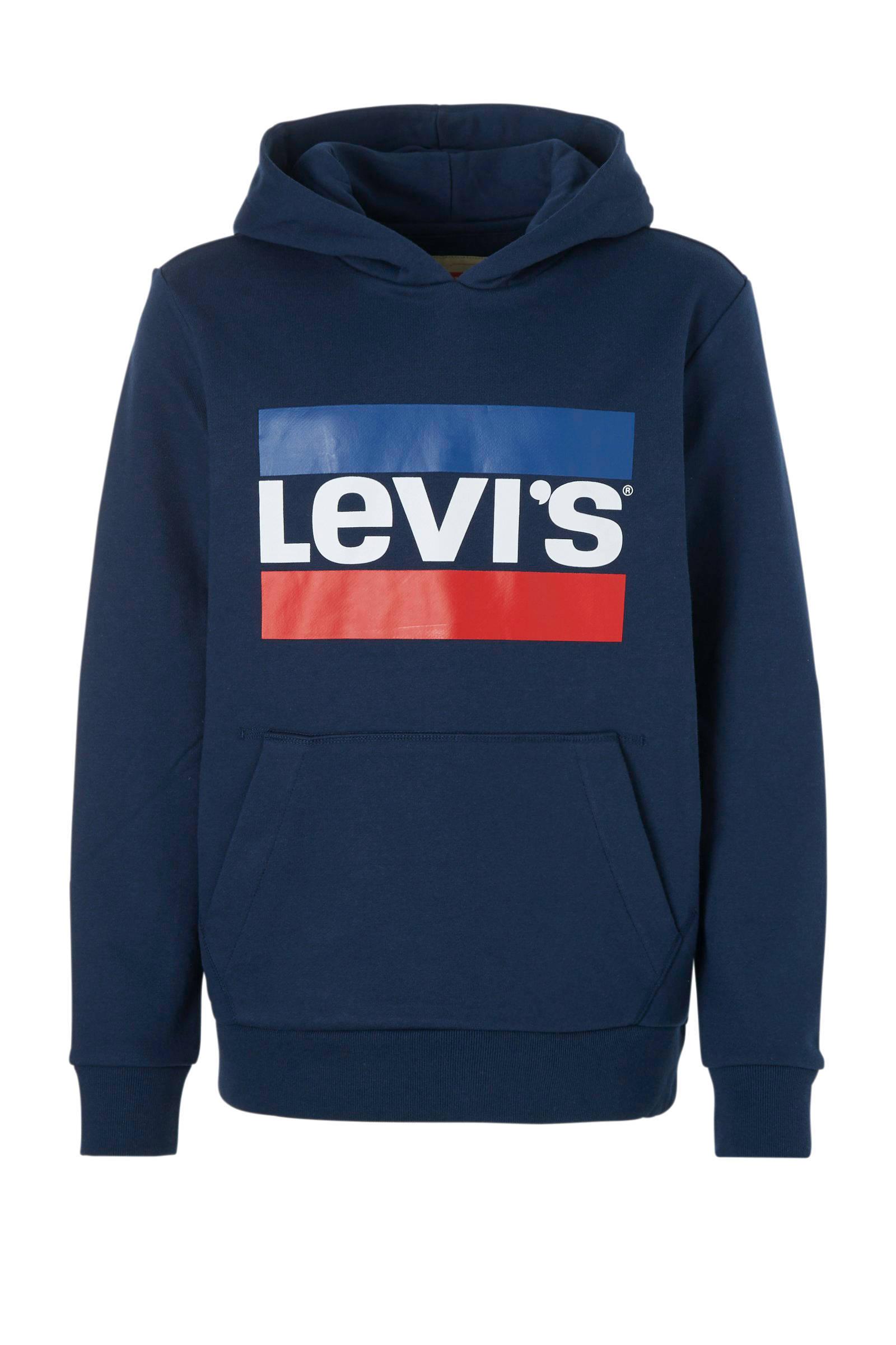 Levi's kids Levi's Kids sweater met logo donkerblauw | wehkamp