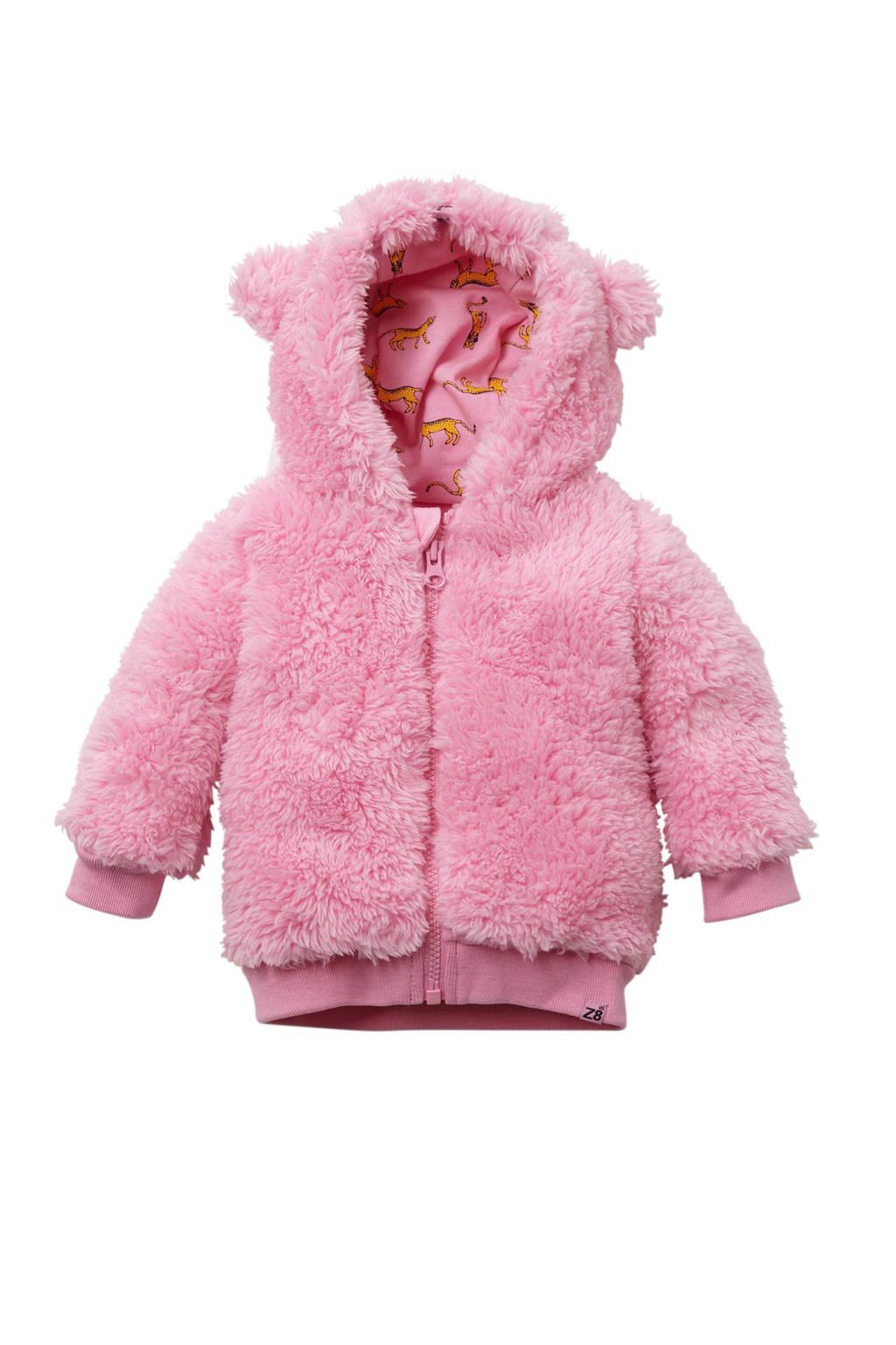 Z8 newborn baby vest Polaris, Roze