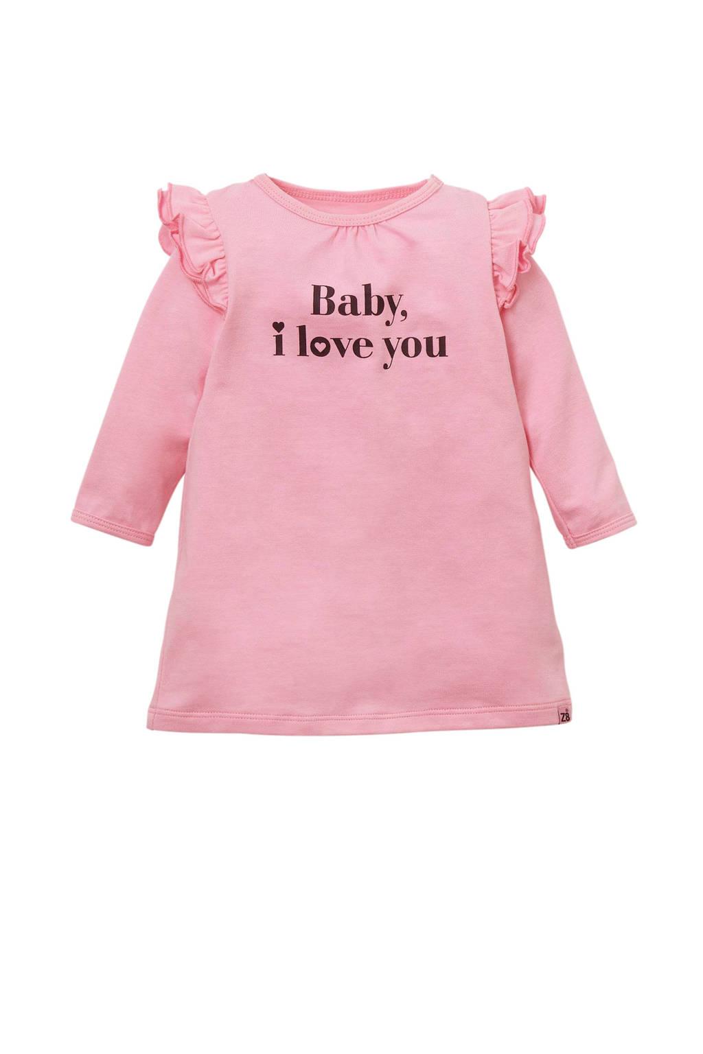 Z8 newborn baby jurk Phoebe, Roze