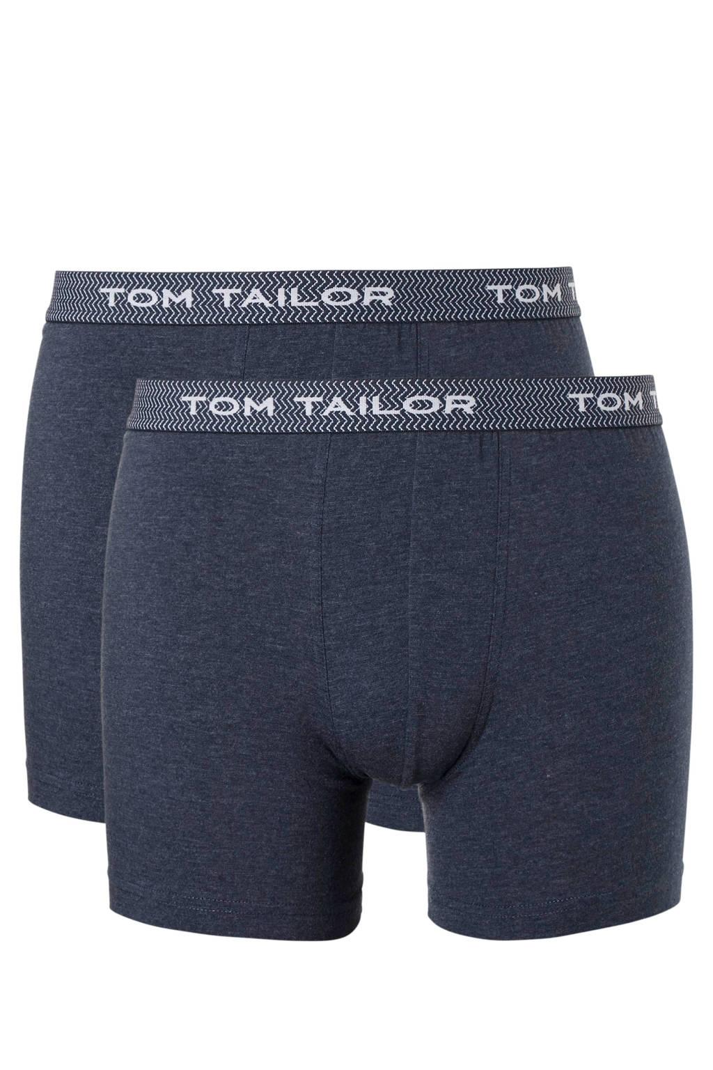 Tom Tailor boxershort (set van 2), Blauw