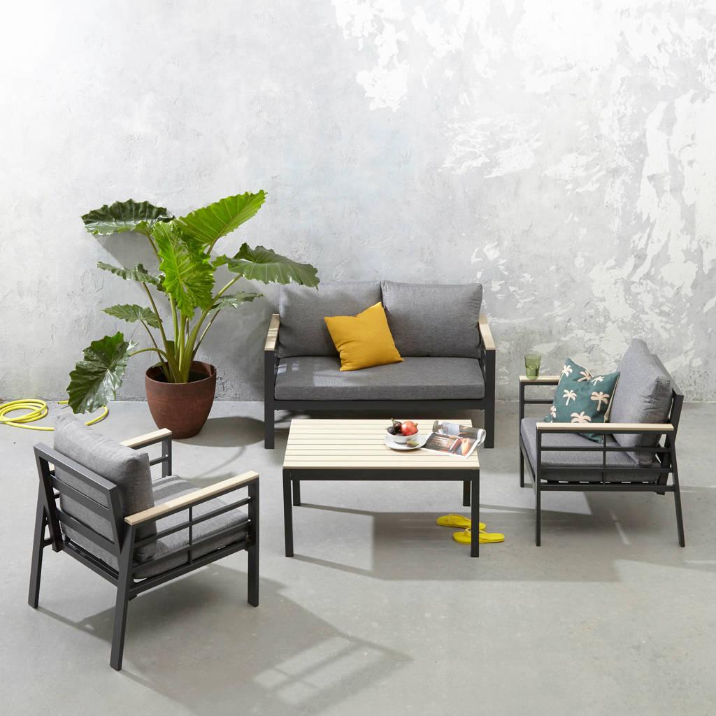 SenS-Line loungeset Forza, Grijs/naturel/antraciet
