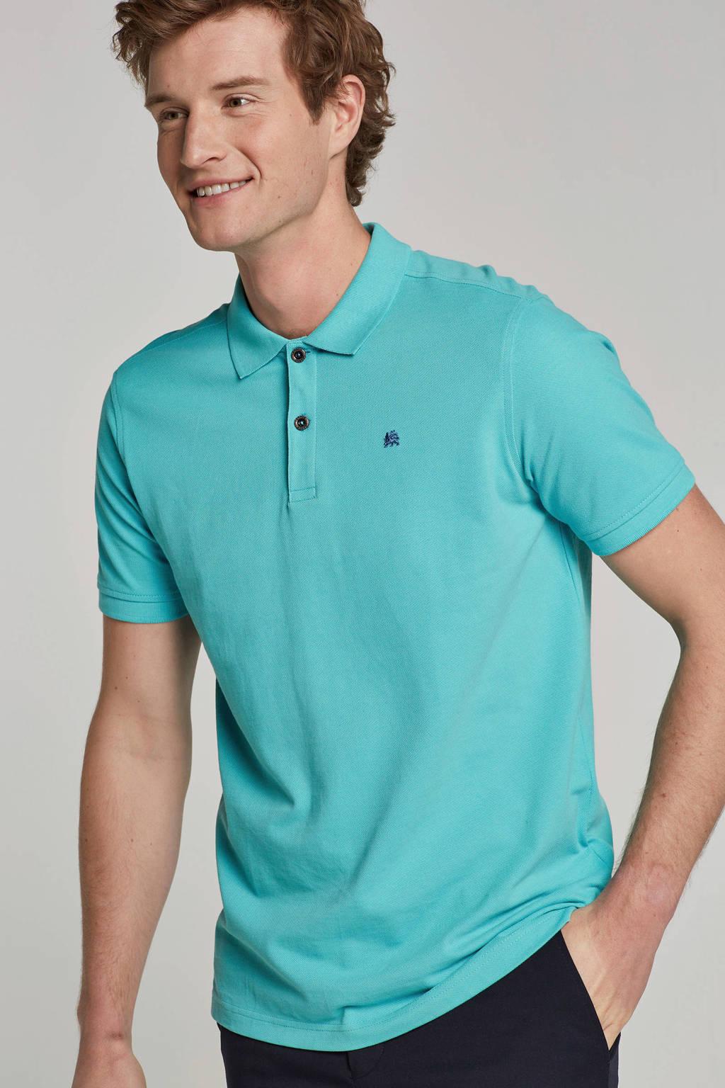 Lerros polo, Turquoise