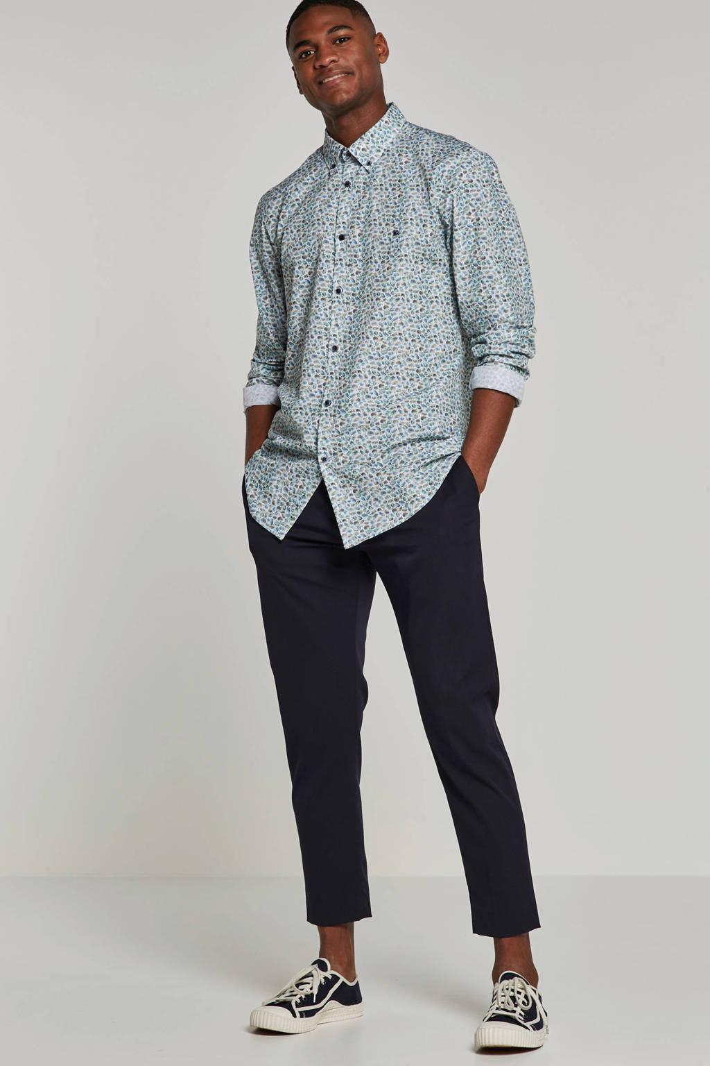 Lerros modern fit overhemd, Mintgroen
