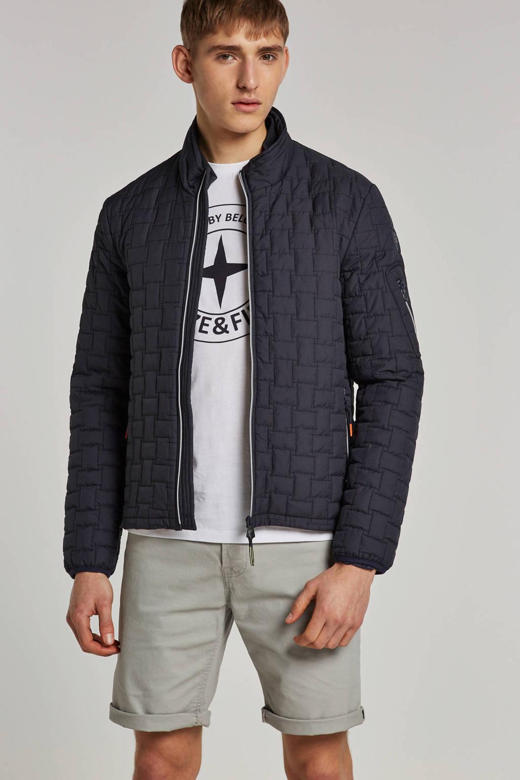 Lerros jas, Grijsblauw