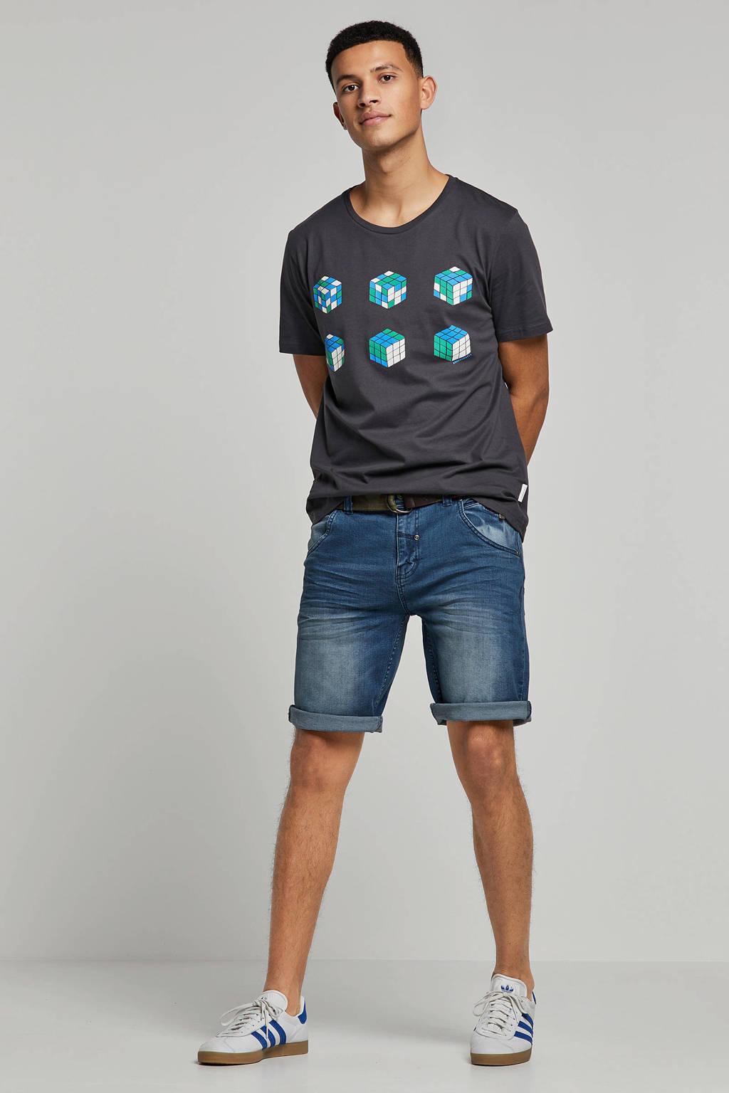 Lerros regular fit jeans short Craig, Light denim