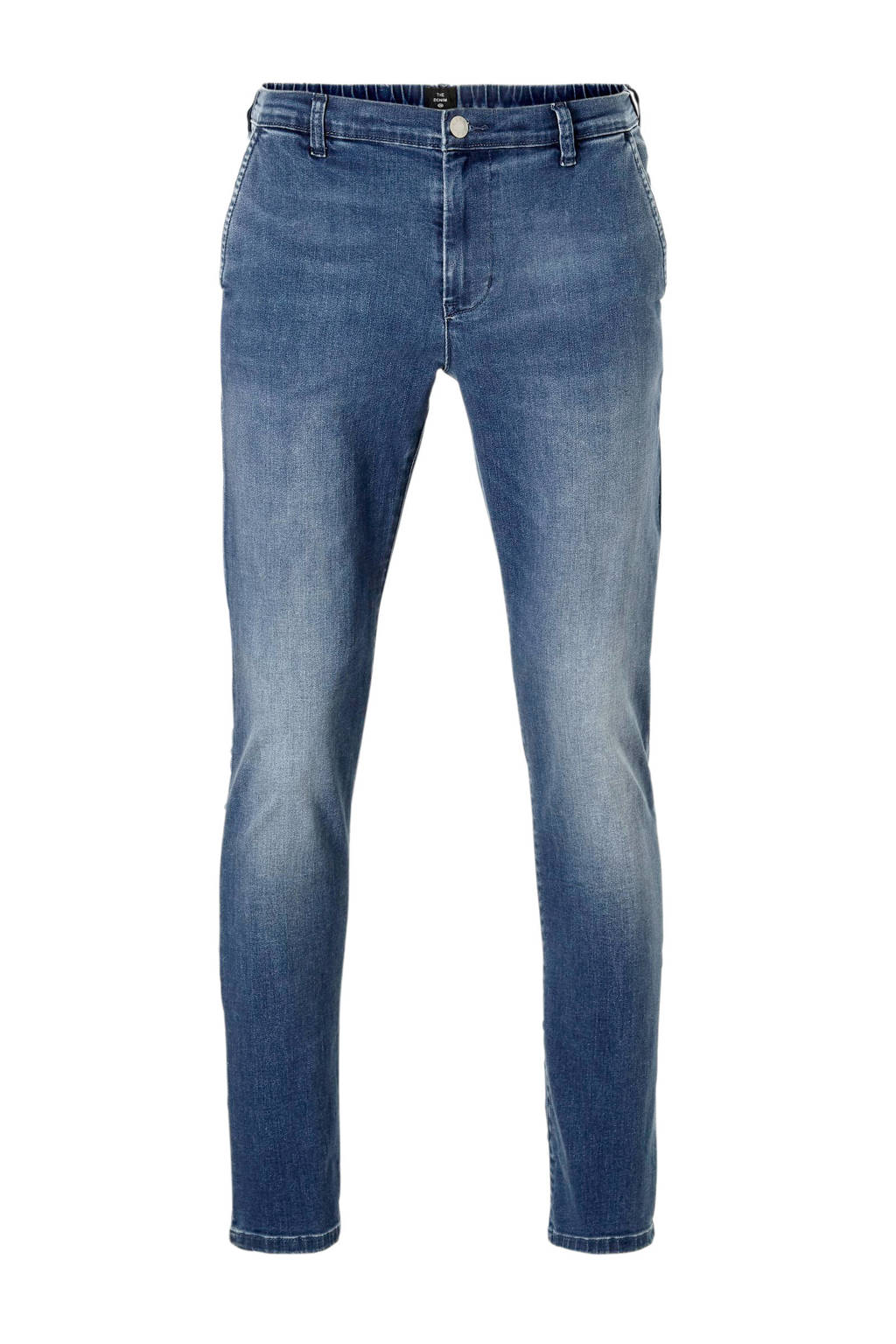 C&A The Denim tapered fit chino, MdBlue9