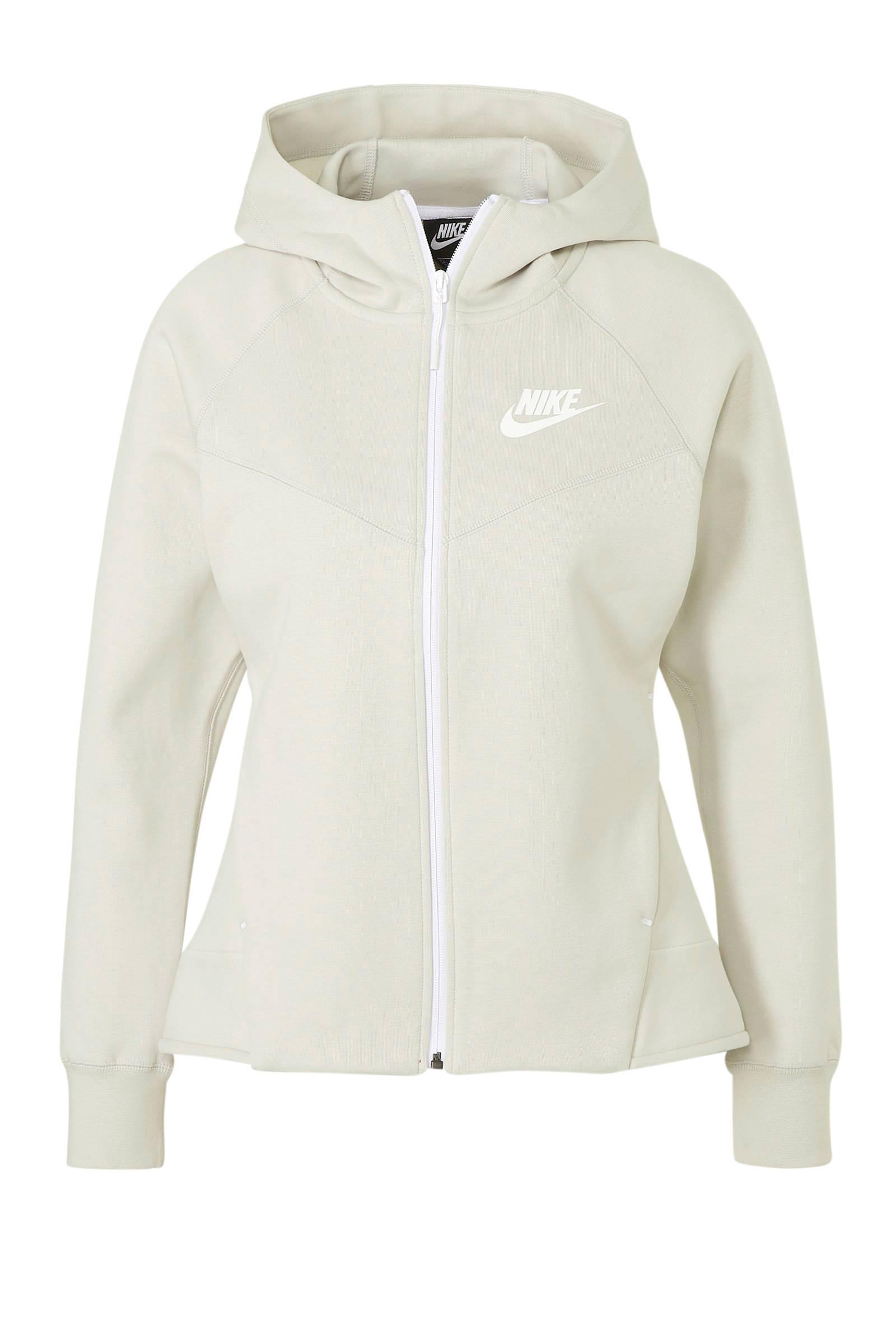 Nike Tech Fleece vest lichtgrijs | wehkamp