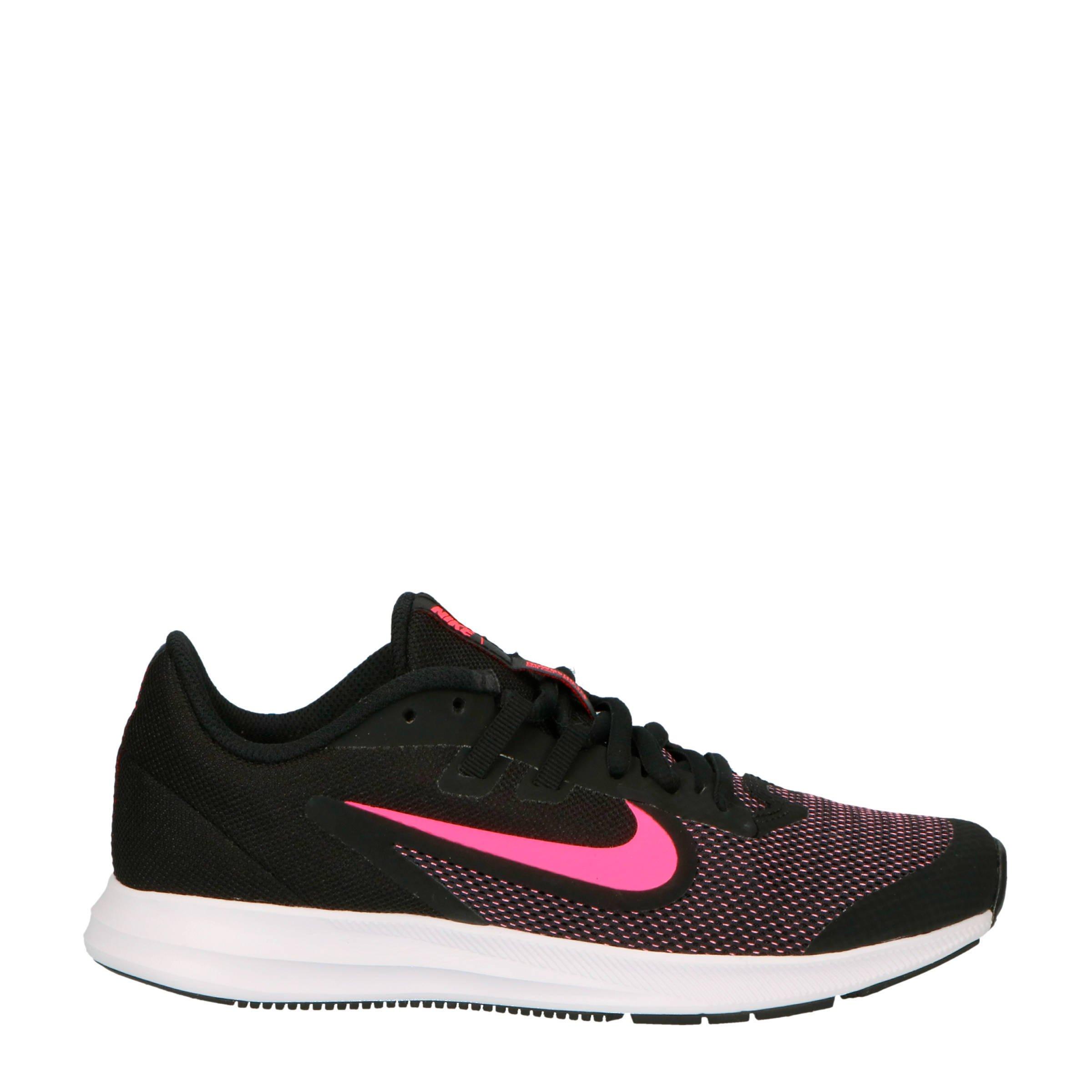 ed70523af9e Nike Downshifter 9 sneakers zwart/roze | wehkamp