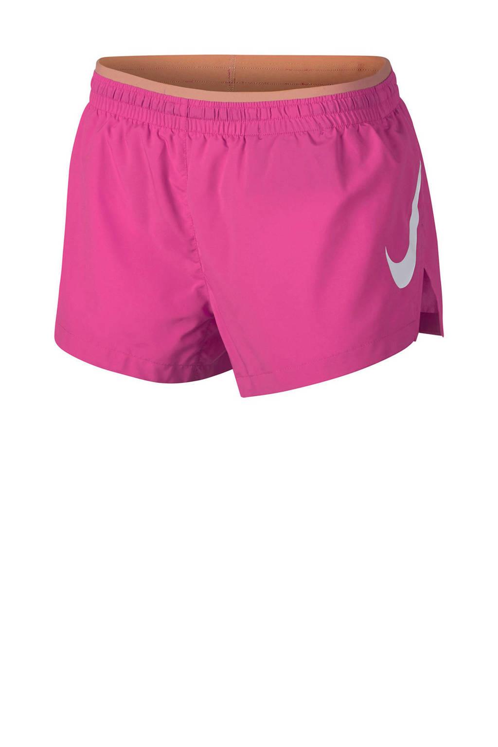 Nike hardloopshort roze, Roze
