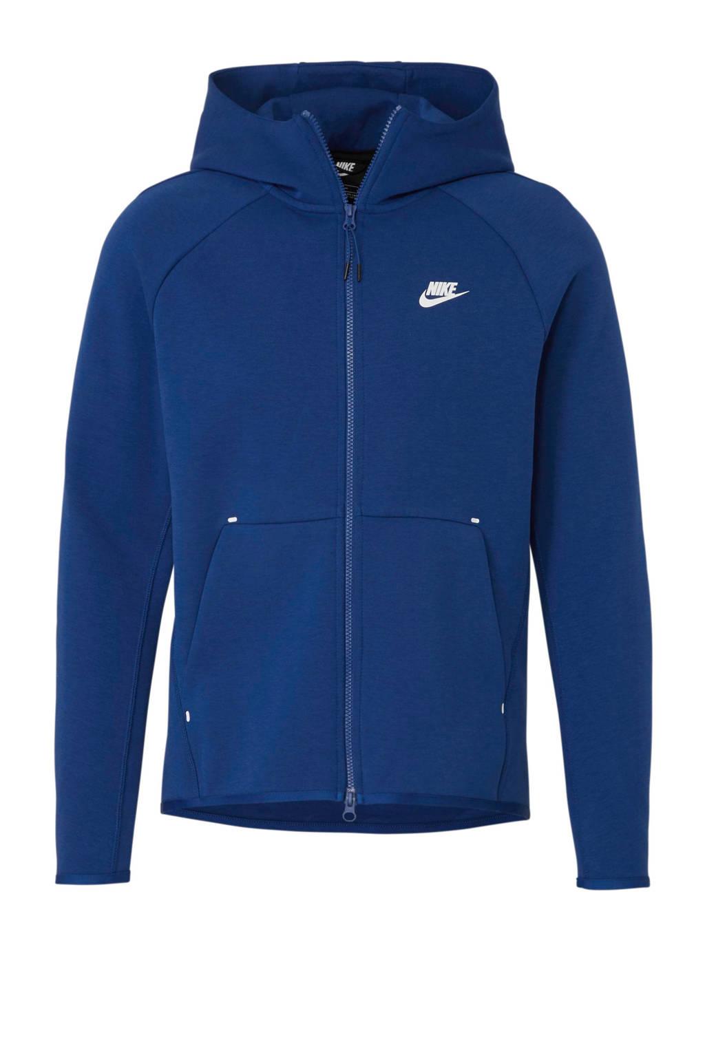 Nike   Tech Fleece vest blauw, Blauw