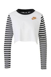 Nike / Nike sport T-shirt wit/zwart