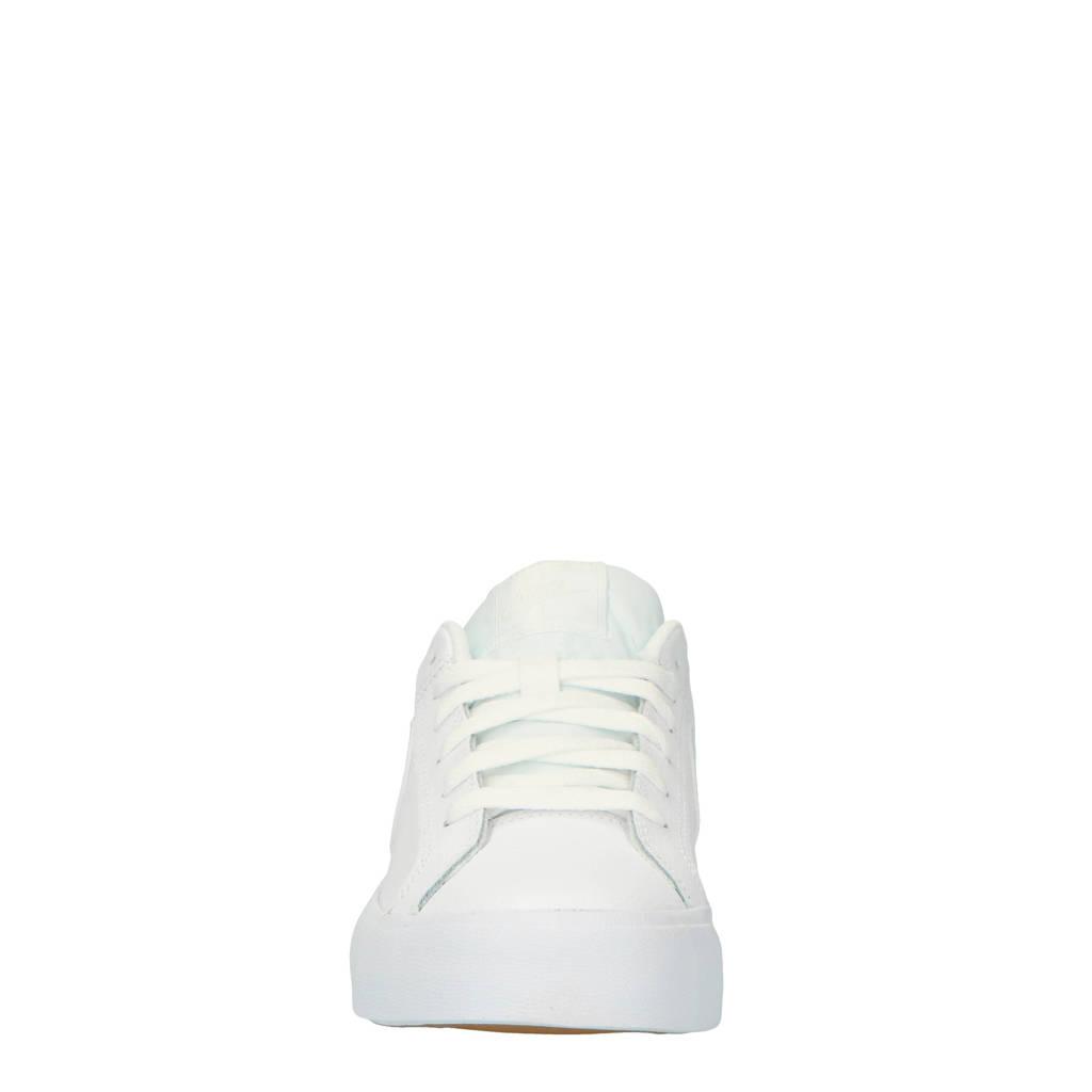 dd35490c46b Nike Court Royale AC leren sneakers, Wit/mintgroen