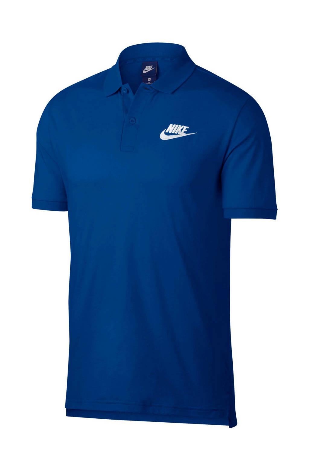Nike   polo, Blauw