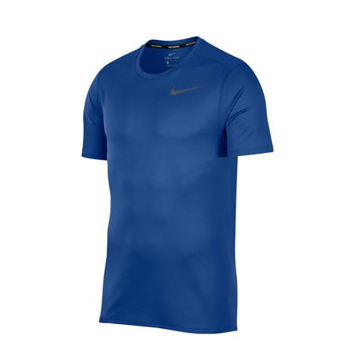 Nike hardloop T-shirt blauw kopen