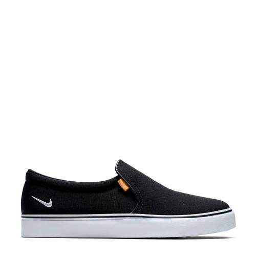 Nike Court Royale AC SLP slip-on sneakers zwart