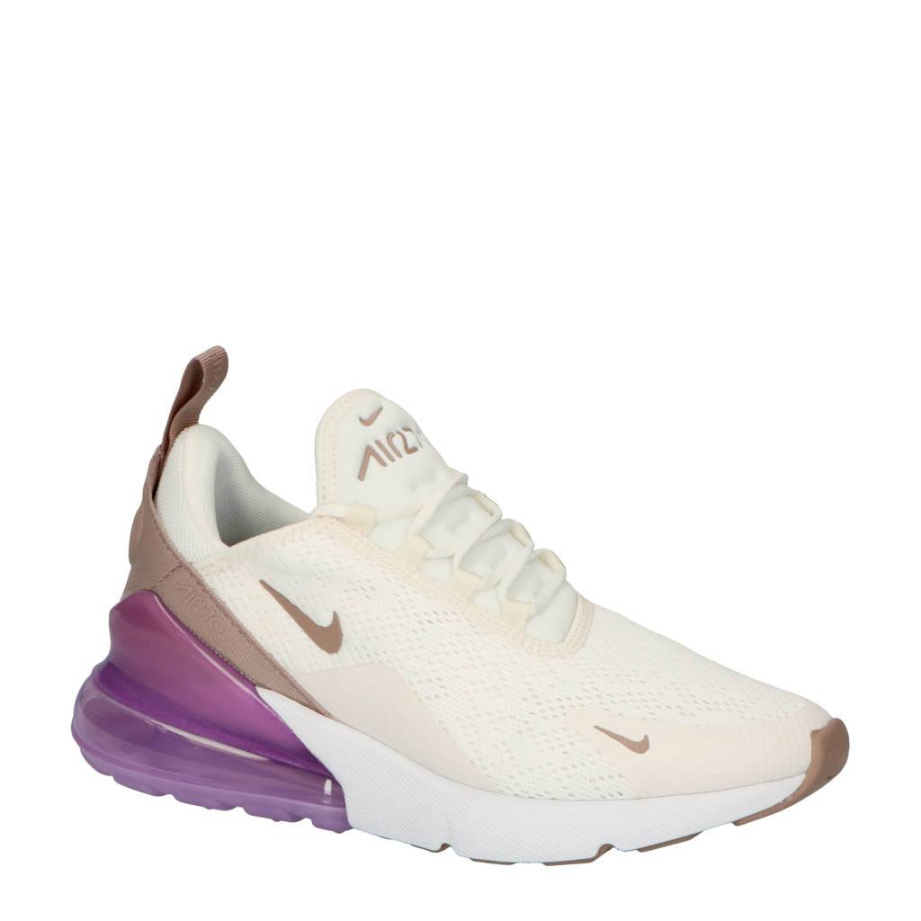 Nike Nike Air Max 270 sneakers ecru/paars, Ecru/paars