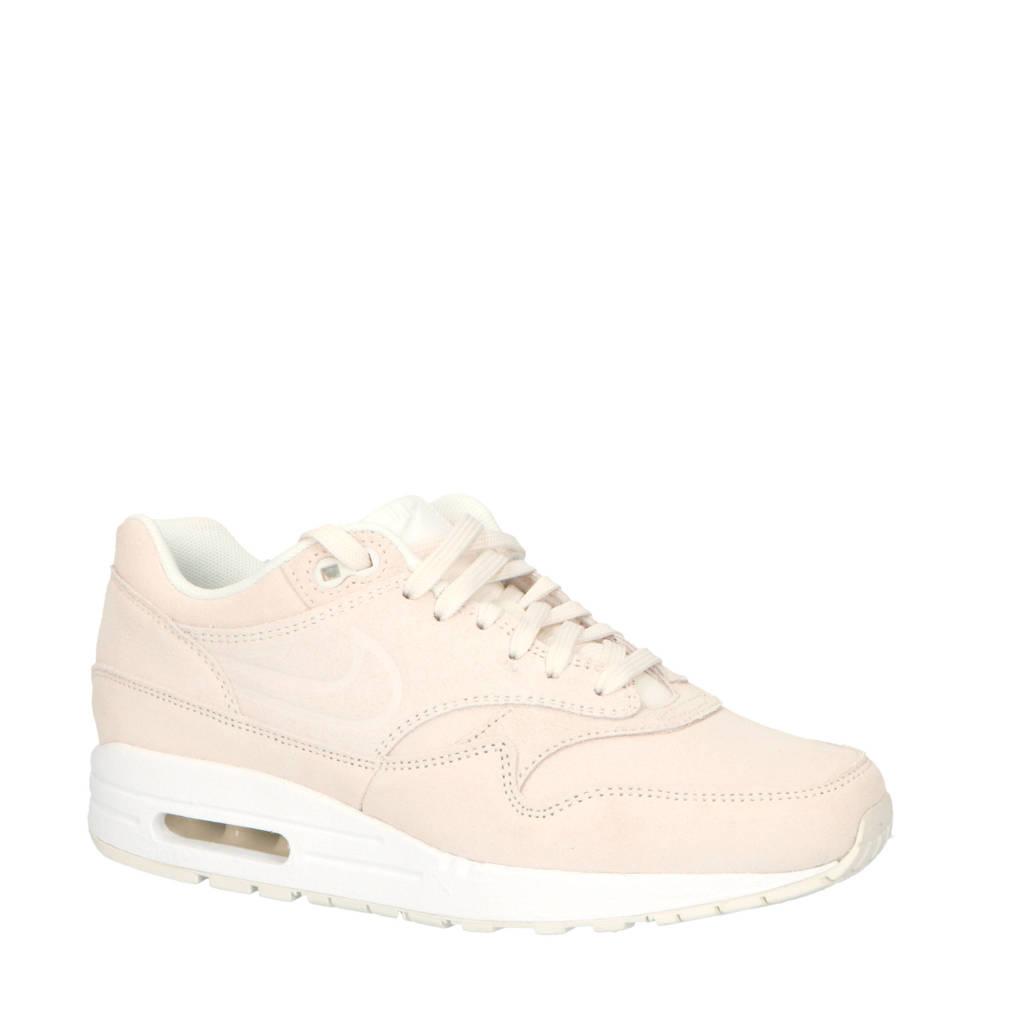 Nike  Air Max 1 Premium suède sneakers, Wit