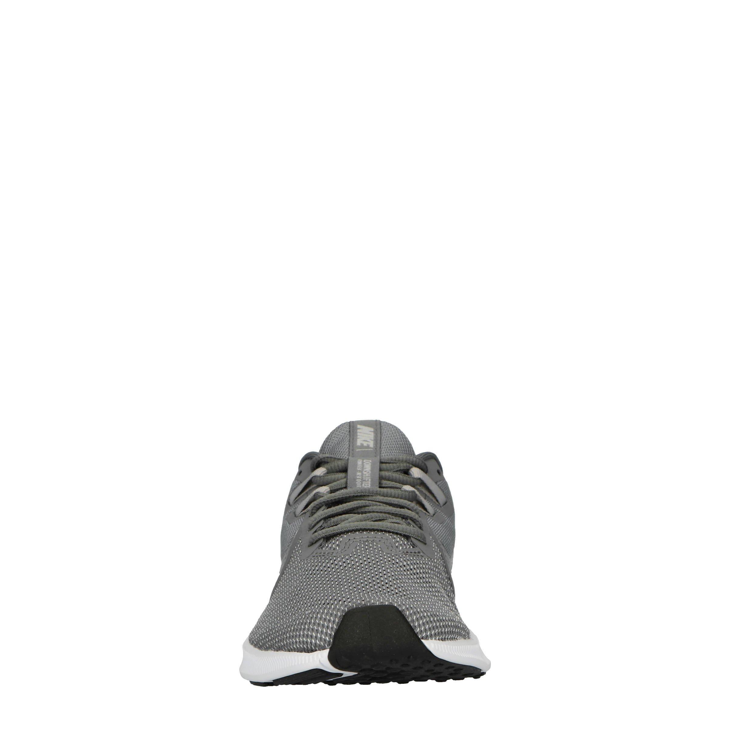 Nike Downshifter 9 hardloopschoenen grijszilver | wehkamp