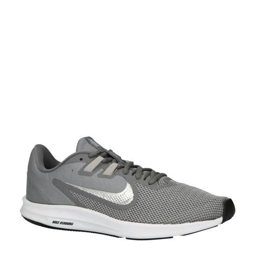 Nike Downshifter 9 hardloopschoenen grijs-zilver
