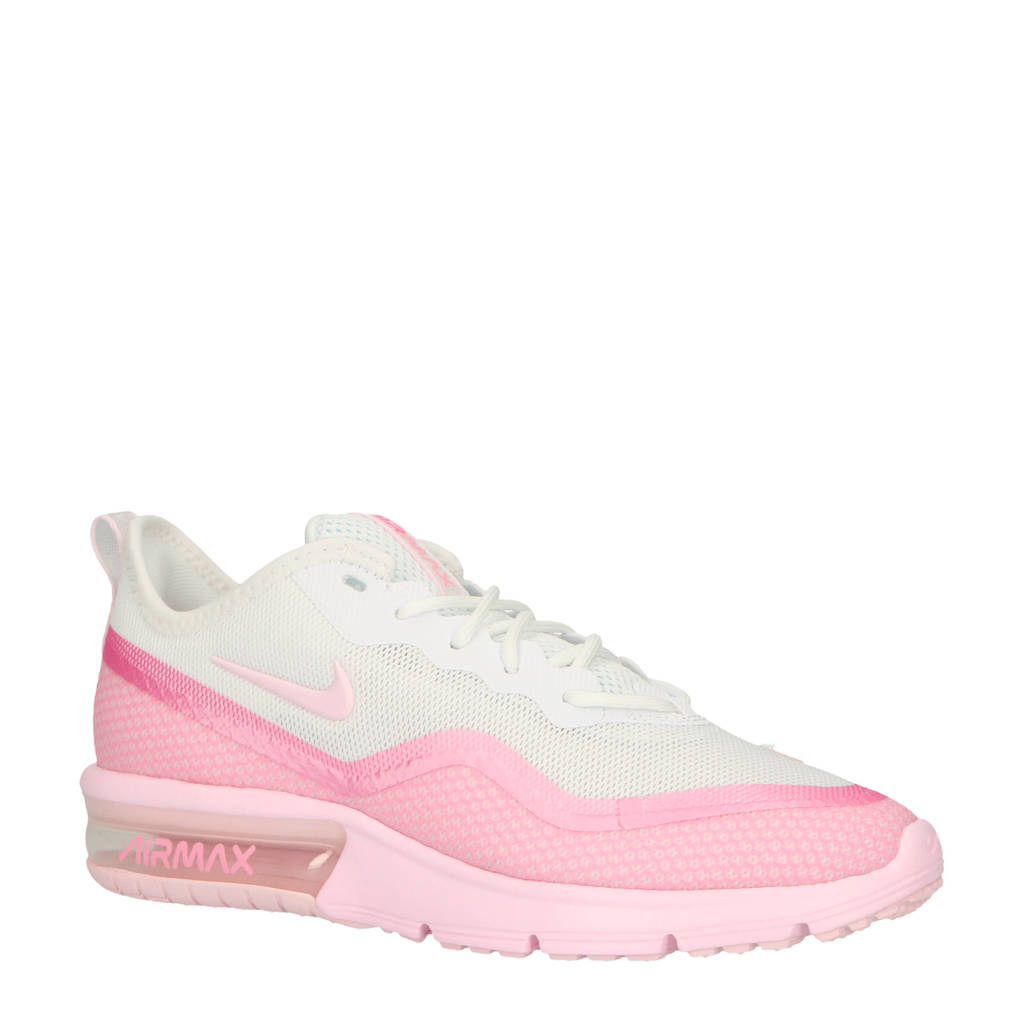 70dbdcbb82c Nike Air Max Sequent 4.5 sneakers wit/roze, Wit/roze