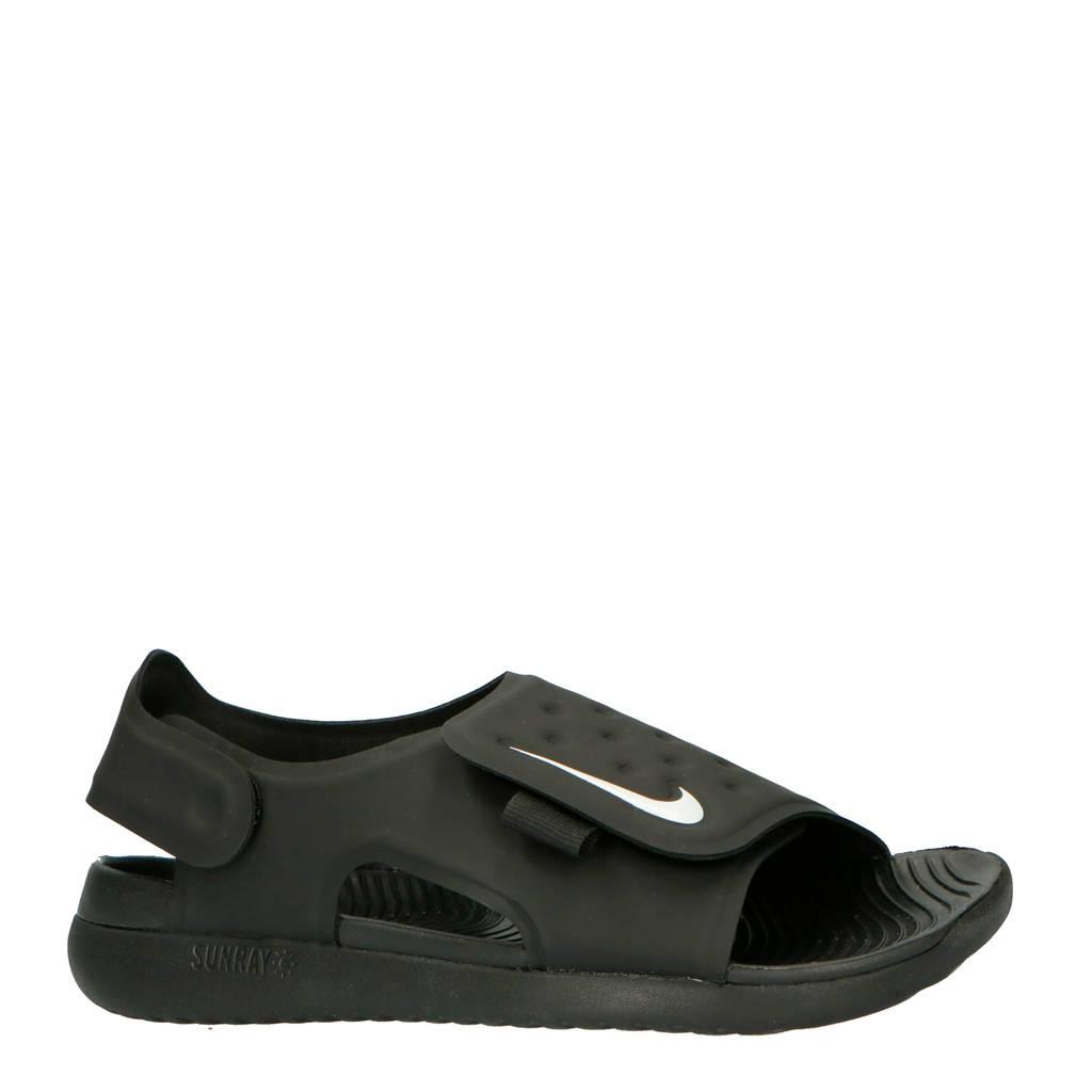 2b372029f75 Nike Sunray Adjust 5 waterschoenen zwart/wit kids   wehkamp