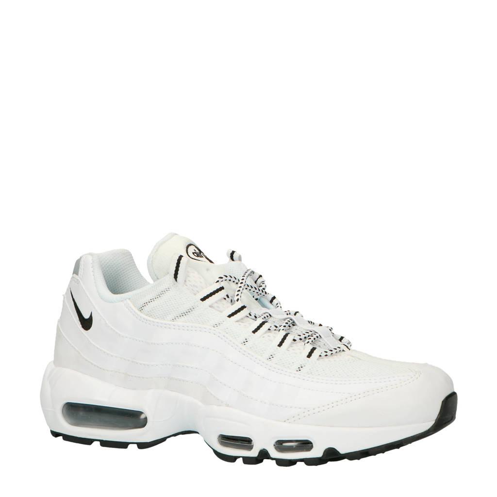 Nike Air Max 95 sneakers wit/zwart, Wit/zwart