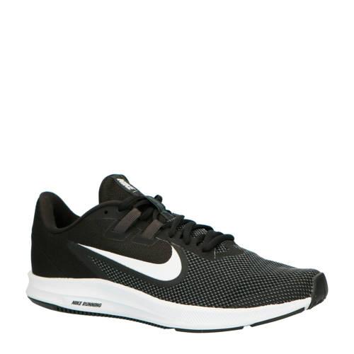 Nike Downshifter 9 hardloopschoenen zwart/wit