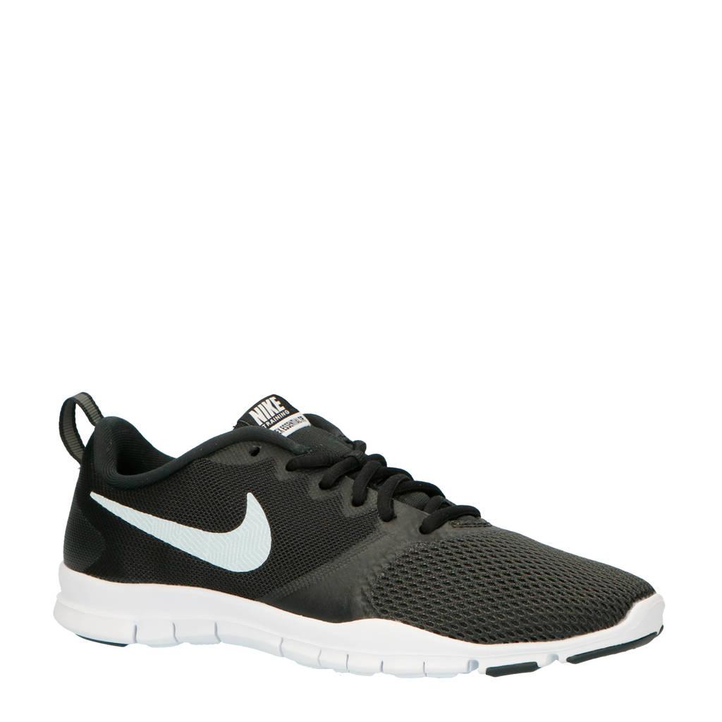Nike   Flex Essential fitness schoenen zwart/wit, Zwart/wit