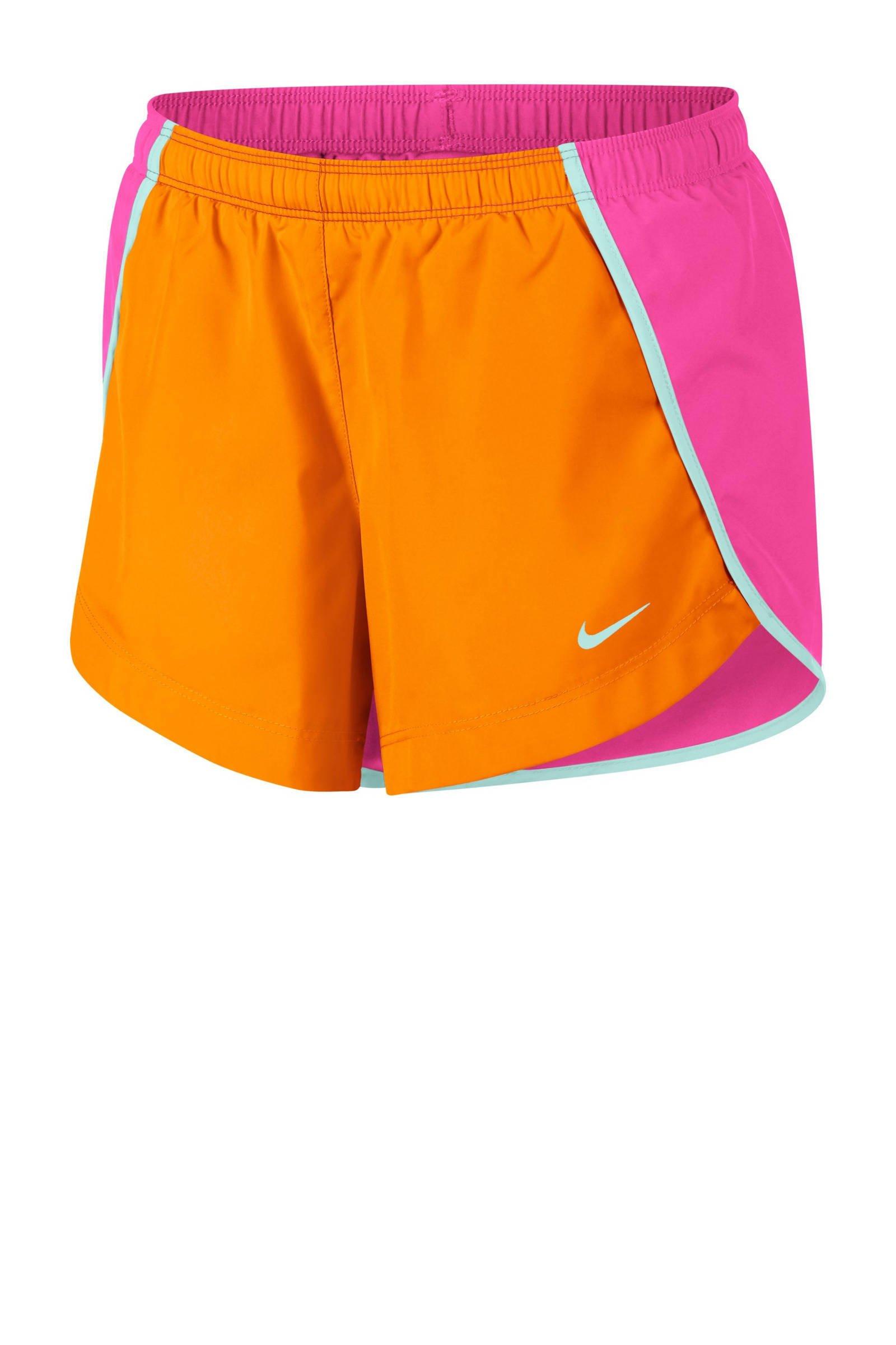 8544ef195df Nike short oranje/roze   wehkamp
