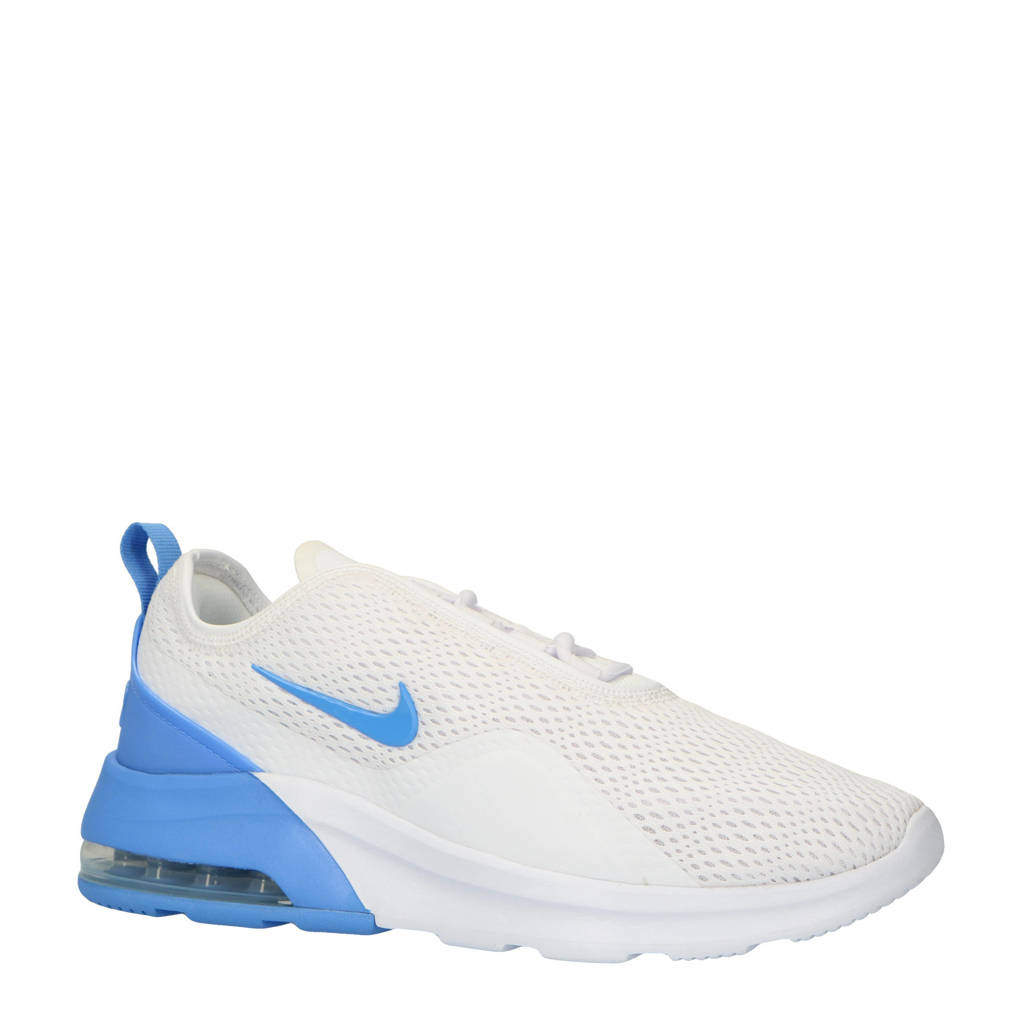 Nike Air Max Motion 2 sneakers wit/blauw, Wit/blauw