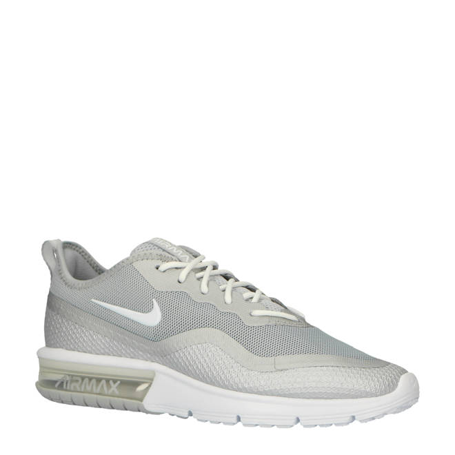 new styles bcdf0 34bb1 Nike. Air Max Sequent 4.5 sneakers grijswit