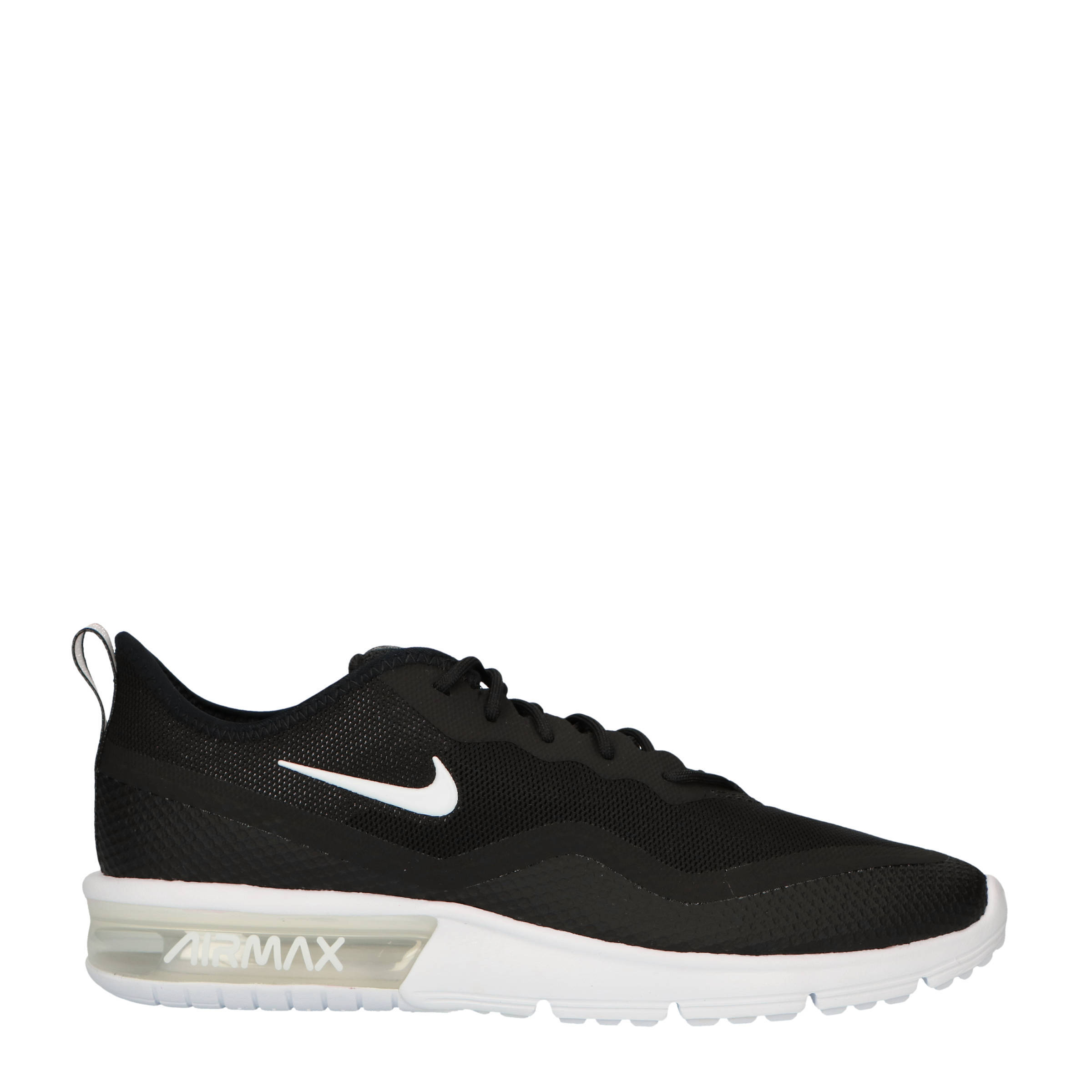 Air Max Sequent 4.5 sneakers zwart/wit