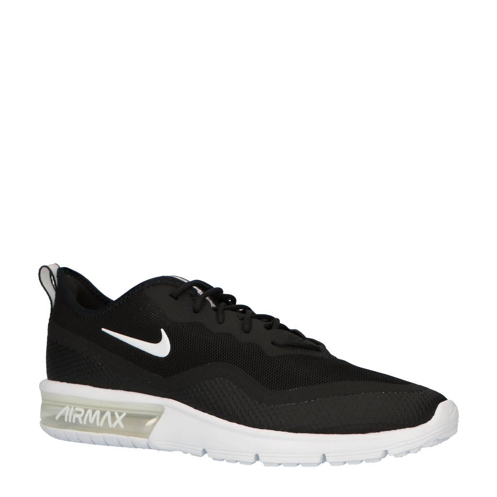Nike Air Max Sequent 4.5 sneakers zwart/wit, Zwart/wit
