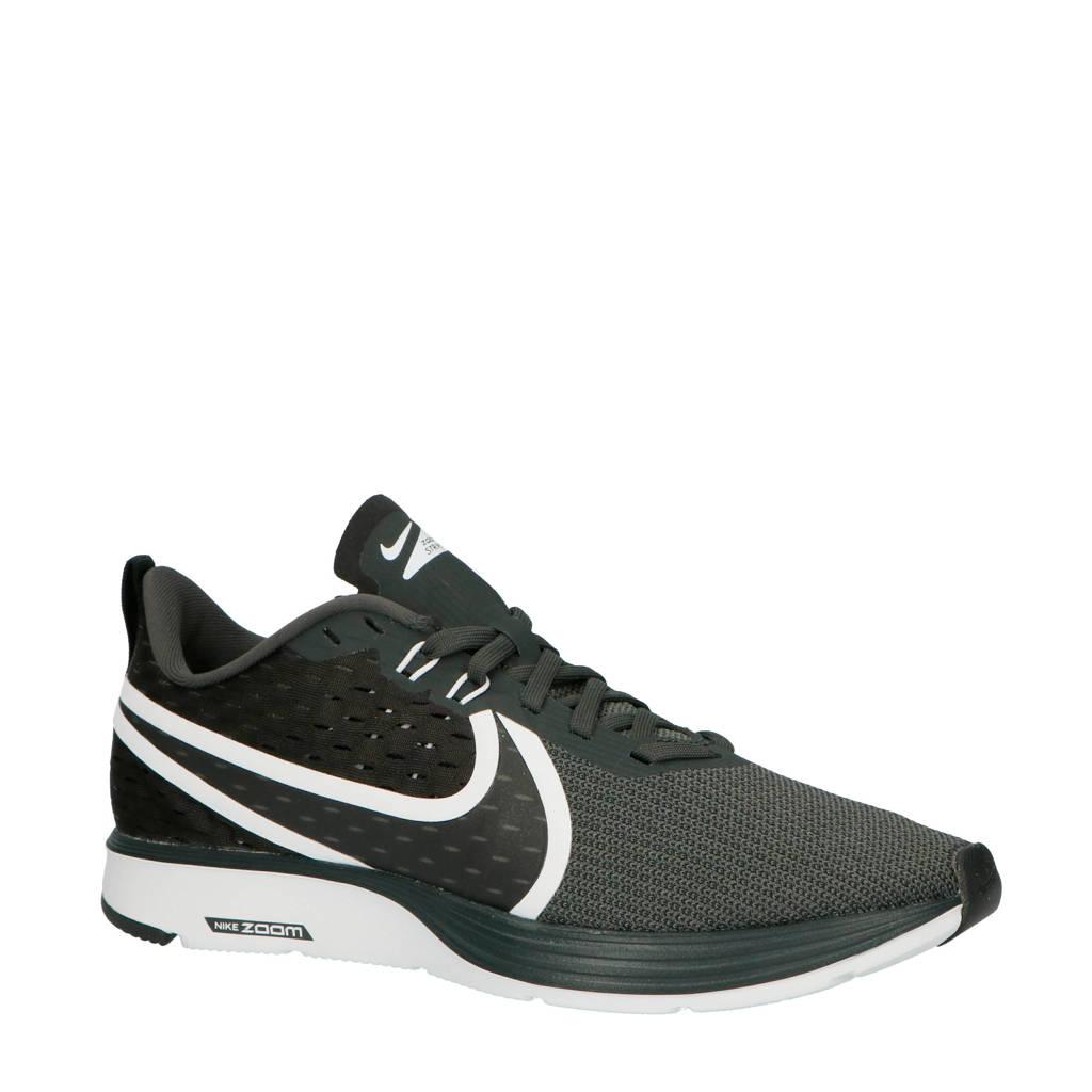 Nike   Zoom Strike 2 hardloopschoenen zwart, Antraciet/zwart