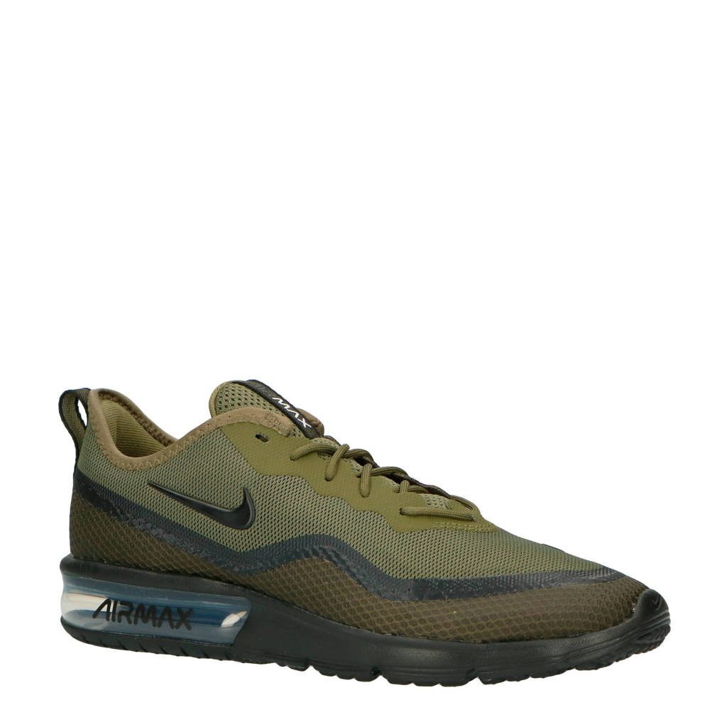 Nike Air Max Sequent 4.5 SE sneakers groen/zwart, Groen/zwart