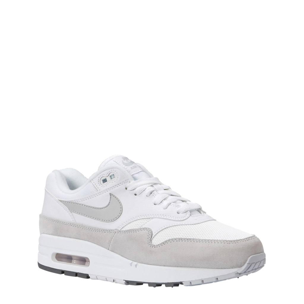 Nike Air Max 1 sneakers, Wit/grijs